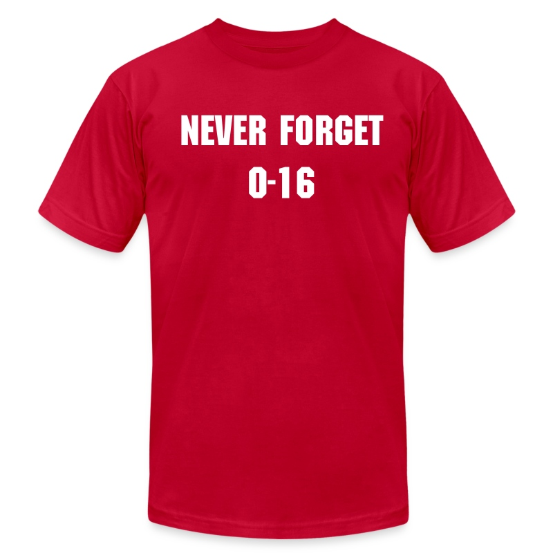 Never Forget - Men's T-Shirt by American Apparel