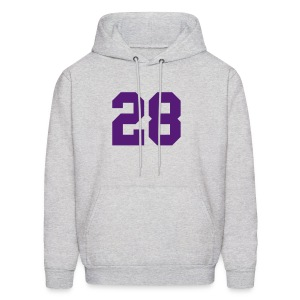 Purple Jesus Sweatshirt - Men - Men's Hoodie