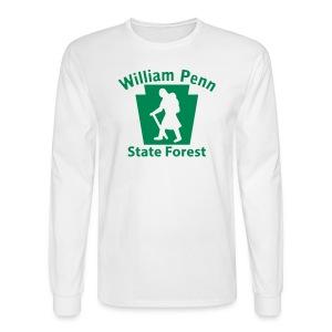 William Penn State Forest Hiker (Female) - Men's Long Sleeve T-Shirt