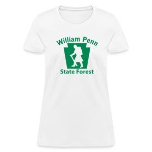 William Penn State Forest Hiker (Female) - Women's T-Shirt