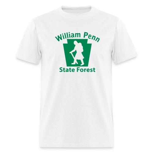 William Penn State Forest Hiker (Female) - Men's T-Shirt