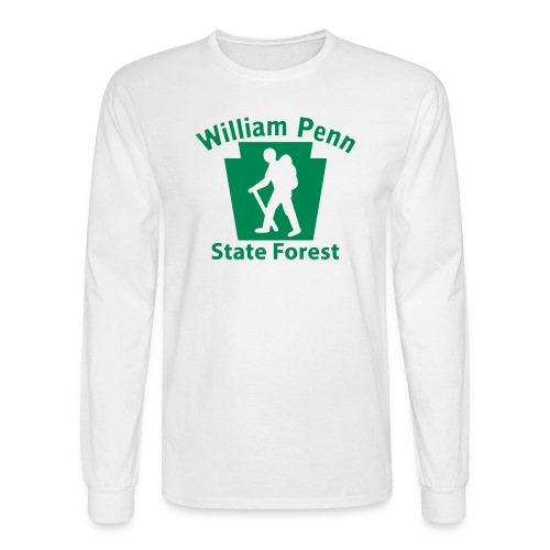 William Penn State Forest Hiker (Male) - Men's Long Sleeve T-Shirt