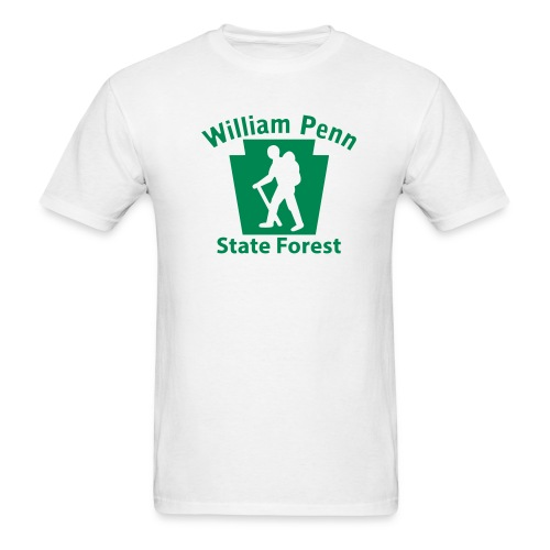 William Penn State Forest Hiker (Male) - Men's T-Shirt