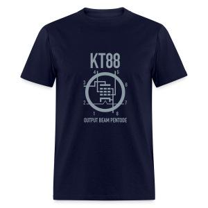 KT88 Metallic Silver T-Shirt - Men's T-Shirt