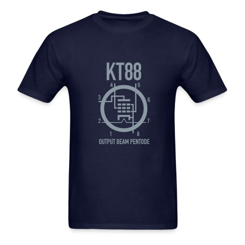 KT88 Metallic Silver T-Shirt - Men's T-Shirt