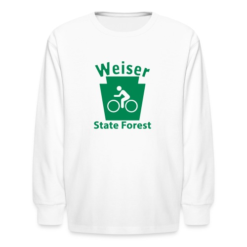 Weiser State Forest Keystone Biker - Kids' Long Sleeve T-Shirt