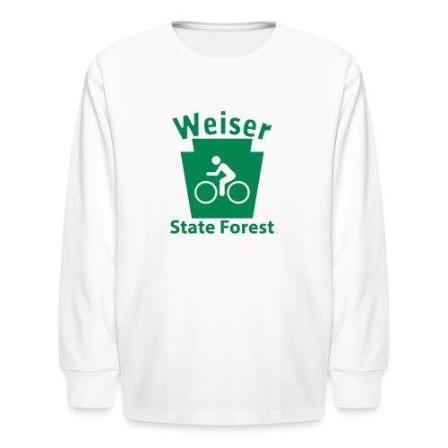 Weiser State Forest Keystone Biker - Kids' Long Sleeve T-Shirt