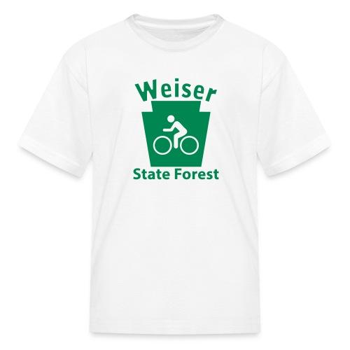 Weiser State Forest Keystone Biker - Kids' T-Shirt