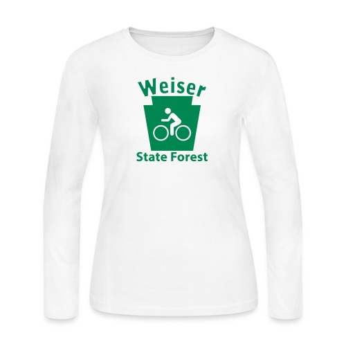Weiser State Forest Keystone Biker - Women's Long Sleeve Jersey T-Shirt