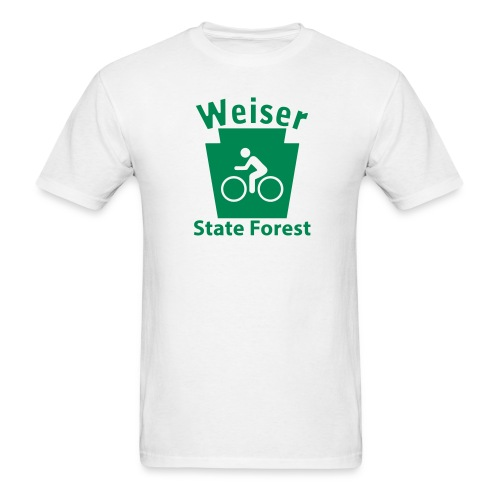 Weiser State Forest Keystone Biker - Men's T-Shirt