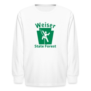 Weiser State Forest Keystone Climber - Kids' Long Sleeve T-Shirt