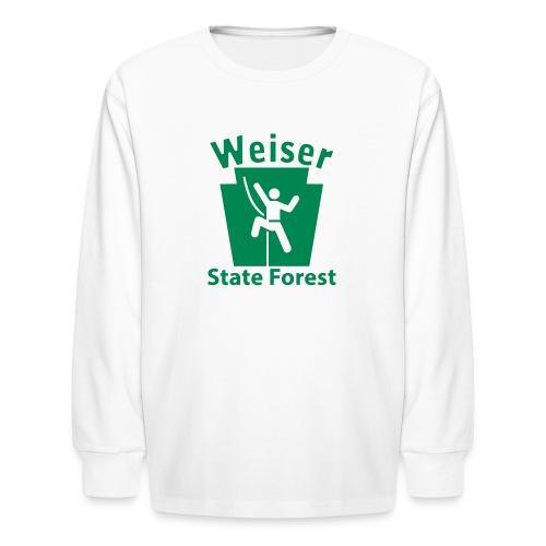 Weiser State Forest Keystone Climber - Kids' Long Sleeve T-Shirt