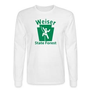 Weiser State Forest Keystone Climber - Men's Long Sleeve T-Shirt