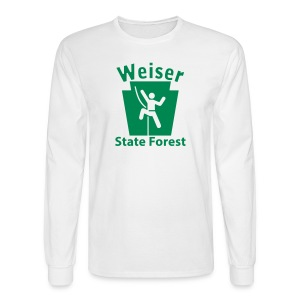 Weiser State Forest Keystone Climber - Men's Long Sleeve T-Shirt
