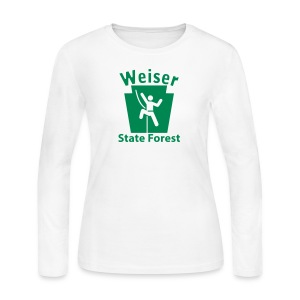 Weiser State Forest Keystone Climber - Women's Long Sleeve Jersey T-Shirt