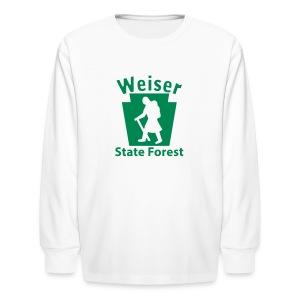 Weiser State Forest Keystone Hiker (female) - Kids' Long Sleeve T-Shirt