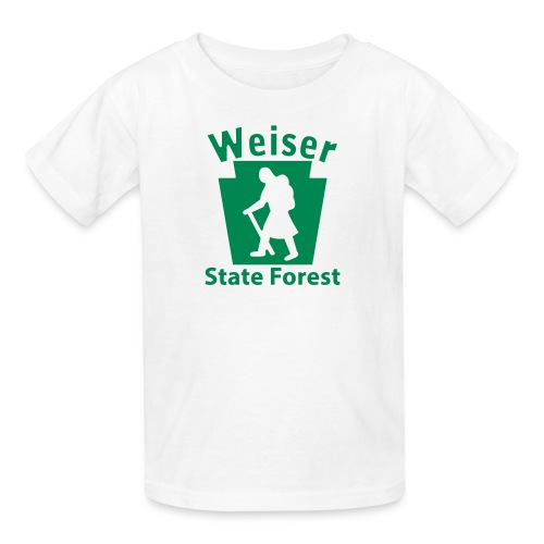 Weiser State Forest Keystone Hiker (female) - Kids' T-Shirt