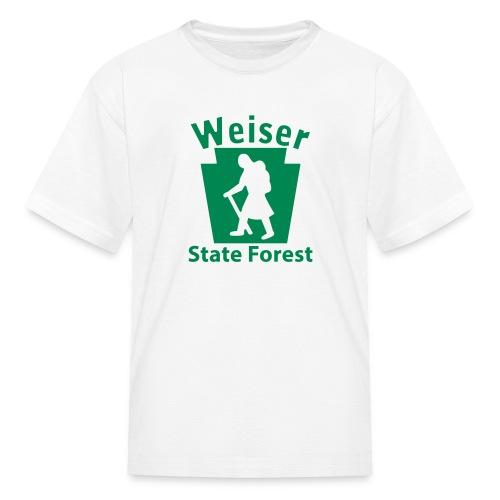 Weiser State Forest Keystone Hiker (female) - Kids' T-Shirt