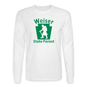 Weiser State Forest Keystone Hiker (female) - Men's Long Sleeve T-Shirt