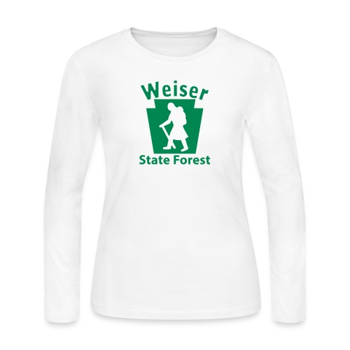 Weiser State Forest Keystone Hiker (female) - Women's Long Sleeve Jersey T-Shirt