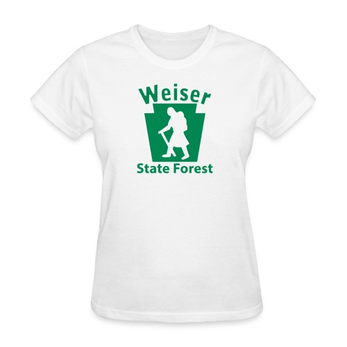 Weiser State Forest Keystone Hiker (female) - Women's T-Shirt
