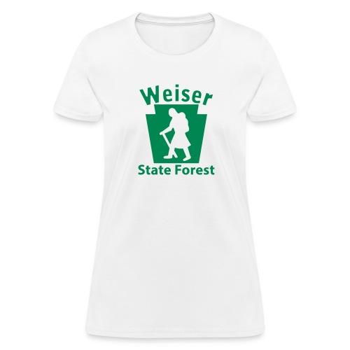 Weiser State Forest Keystone Hiker (female) - Women's T-Shirt