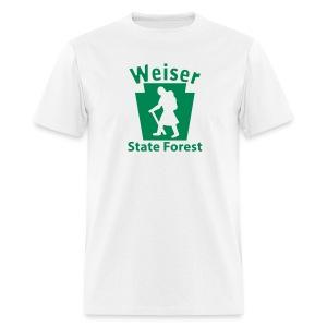 Weiser State Forest Keystone Hiker (female) - Men's T-Shirt