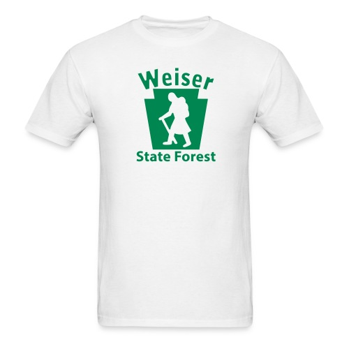 Weiser State Forest Keystone Hiker (female) - Men's T-Shirt