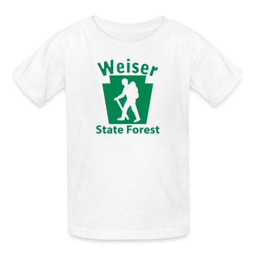 Weiser State Forest Keystone Hiker (male) - Kids' T-Shirt