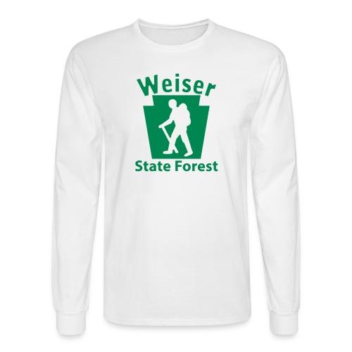 Weiser State Forest Keystone Hiker (male) - Men's Long Sleeve T-Shirt
