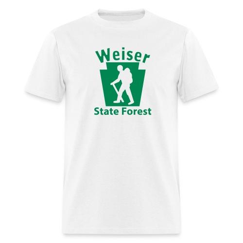 Weiser State Forest Keystone Hiker (male) - Men's T-Shirt