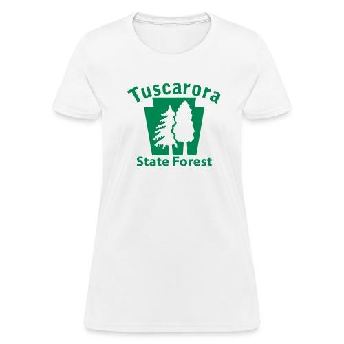 Tuscarora State Forest Keystone w/Trees - Women's T-Shirt