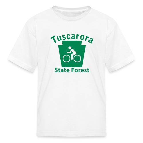 Tuscarora State Forest Keystone Biker - Kids' T-Shirt