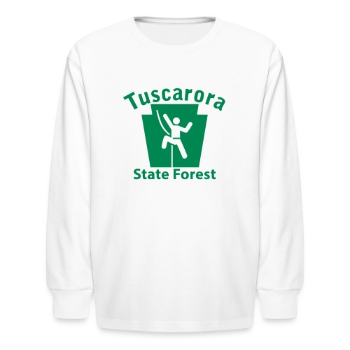 Tuscarora State Forest Keystone Climber - Kids' Long Sleeve T-Shirt