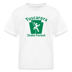 Tuscarora State Forest Keystone Climber - Kids' T-Shirt