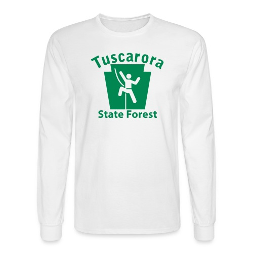 Tuscarora State Forest Keystone Climber - Men's Long Sleeve T-Shirt