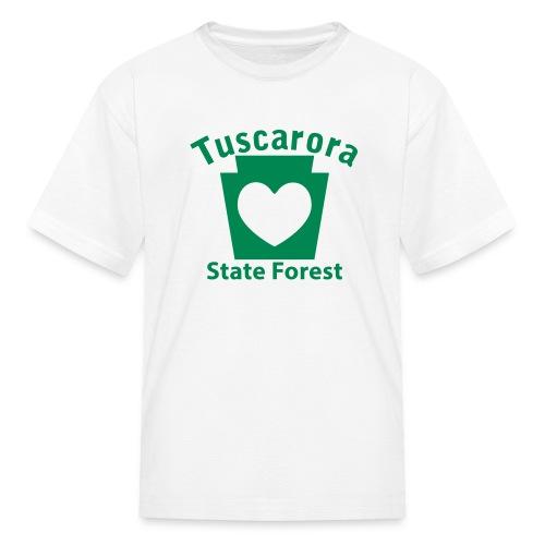 Tuscarora State Forest Keystone Heart - Kids' T-Shirt