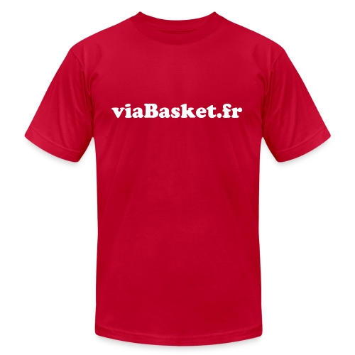 viabasket basic - Men's Fine Jersey T-Shirt