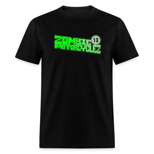 Zombie Moto Motorcycles 13 - Men's T-Shirt