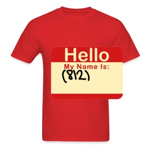 Hello My Name Is...(Male) - Men's T-Shirt