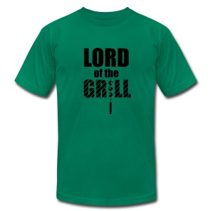 Lord of the Grill - Lines - Men's T-Shirt by American Apparel