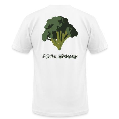 F@#K Spinach _ American Apparel - Men's Fine Jersey T-Shirt