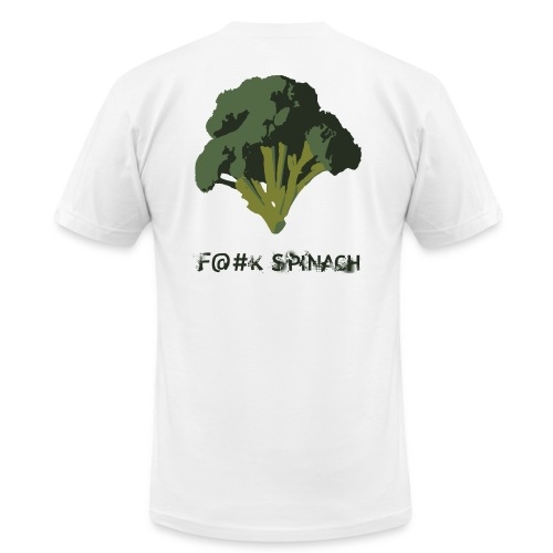 F@#K Spinach _ American Apparel - Men's  Jersey T-Shirt