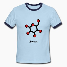 Glucose-Sweet Men's Ringer Shirt
