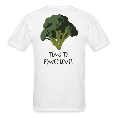 Broccoli power level _ Bargin Shirt - Men's T-Shirt