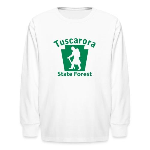 Tuscarora State Forest Keystone Hiker (female) - Kids' Long Sleeve T-Shirt