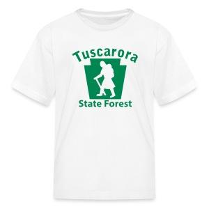 Tuscarora State Forest Keystone Hiker (female) - Kids' T-Shirt