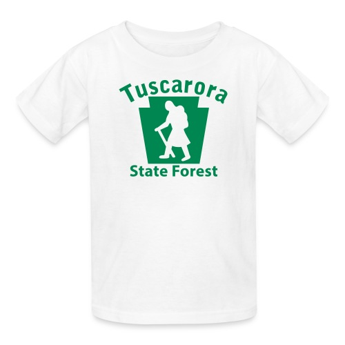 Tuscarora State Forest Keystone Hiker (female) - Kids' T-Shirt
