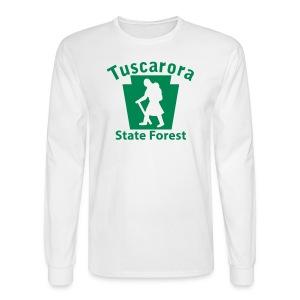 Tuscarora State Forest Keystone Hiker (female) - Men's Long Sleeve T-Shirt