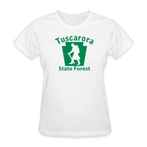 Tuscarora State Forest Keystone Hiker (female) - Women's T-Shirt